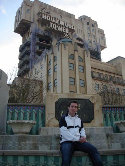 Tour de la Terreur, Walt Disney Studios (février 2008)