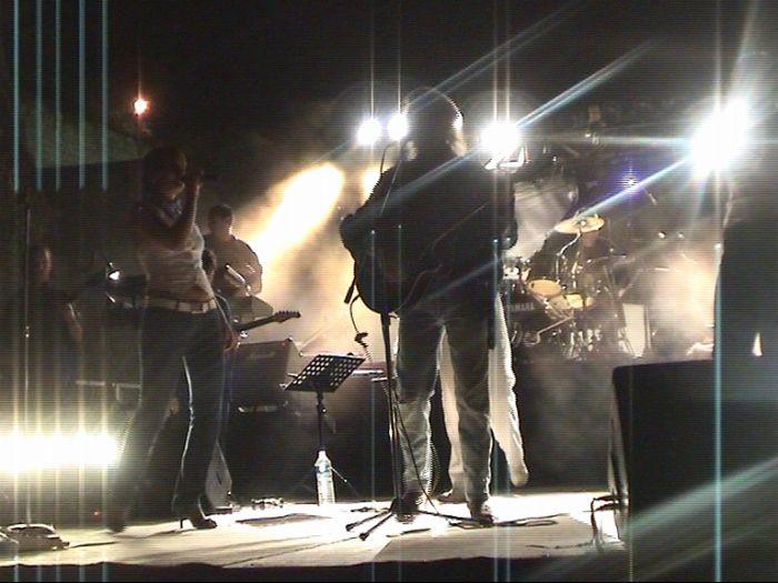 En Live sur scène