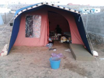 notre tente =) ^^