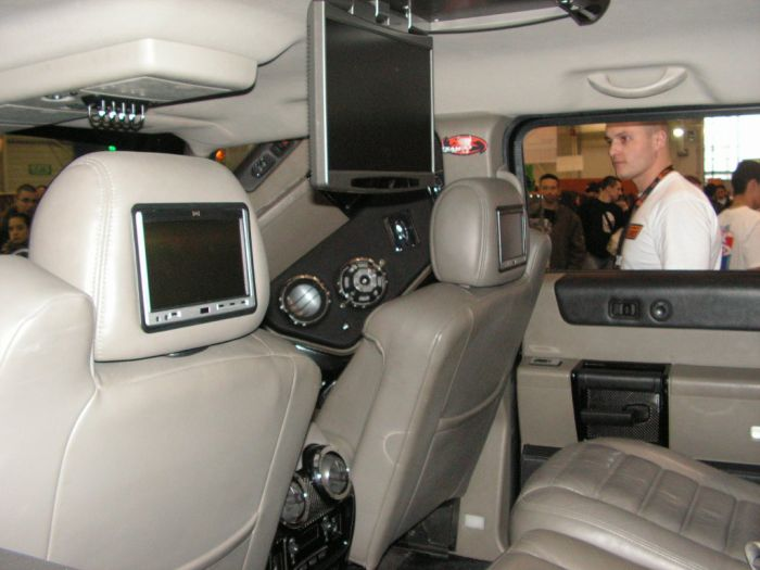 L 39 interieur de hummer h2 bikelover for Interieur hummer