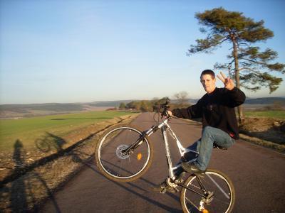 My en vélo