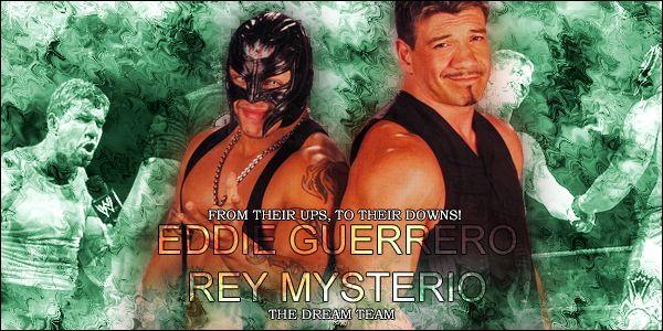 Rey Mysterio et Eddie Guerrero