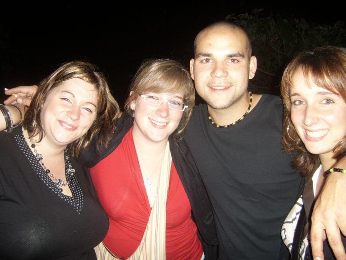avec mon frère sa copine et ma soeur