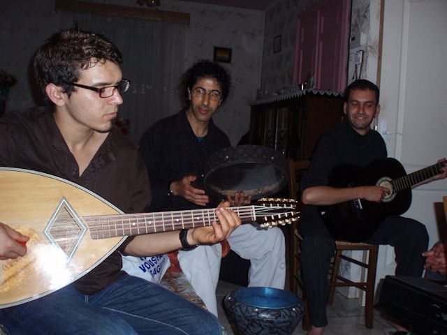 Ardouane , Merzouk et Hilal ( soirée Kabyle)