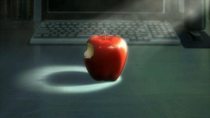 La pomme de Ryuk