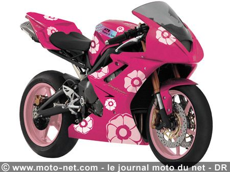 elle dechire cet moto