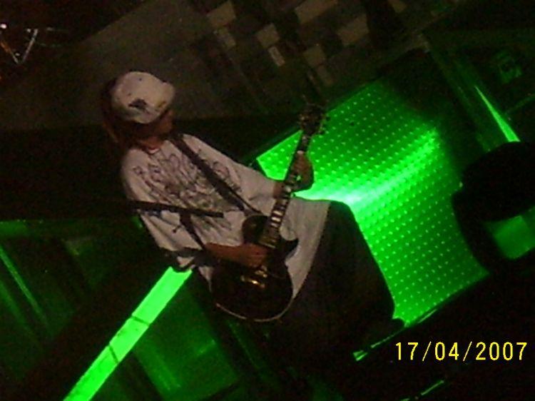 Une photo prise par moi au concert de Tokio Hotel au Zenith
