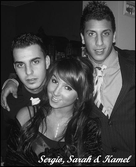 Sergio, moi & Kamel :(