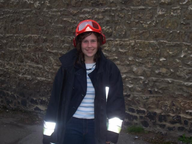 moi habillé en pompier