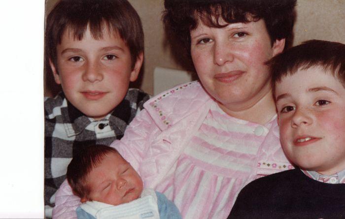 Ma maman , moi et mes 2 frères
