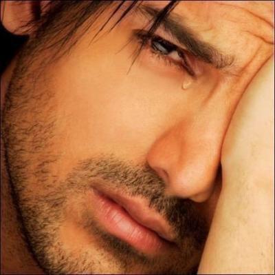 que pensez vs des homme à ki ça arive d pleurer ?