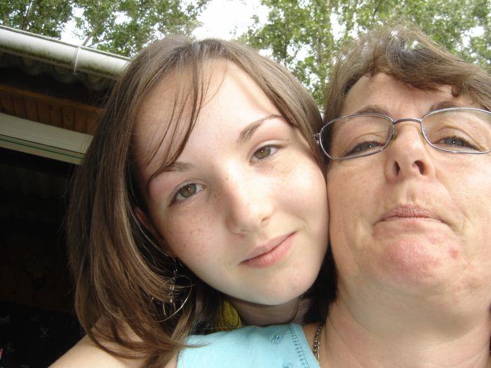 ma maman et moi <333