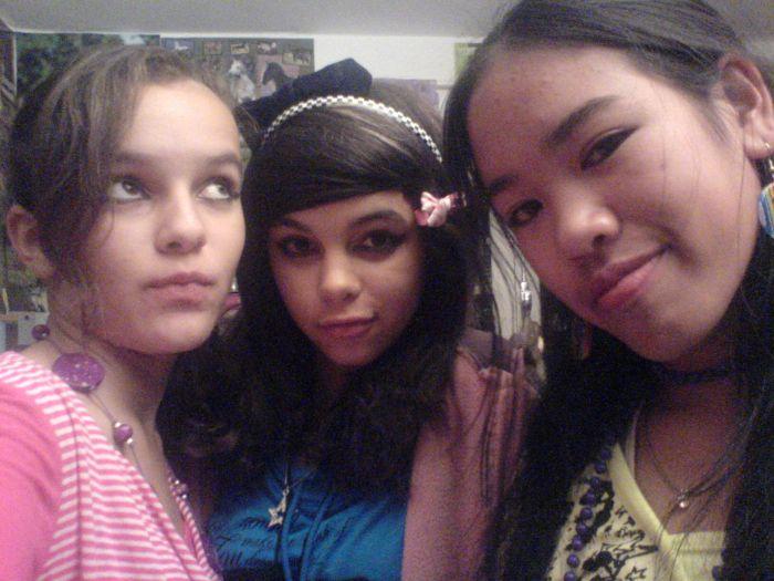 Alice, Sarah-Limba, Léna. <3