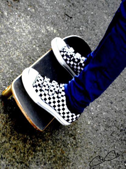 """Cle. """"fait"""" tu skate. Mdr'"""