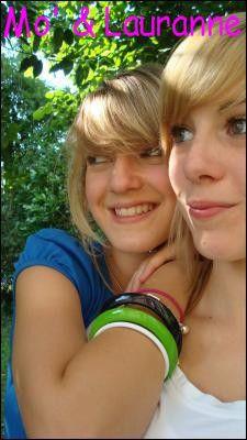 Mo' & Lauranne ;-)