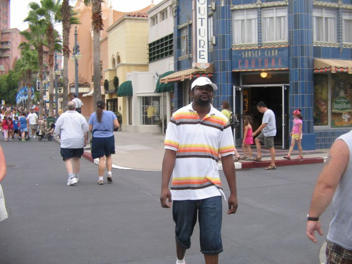 yeah it's me at orlando in Disney world , pretty