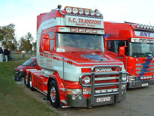 camion Scania