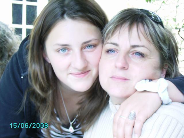 avec ma maman...