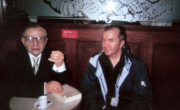 Moi ( à droite), et Jean Paul...