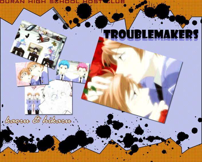 Wallpaper Hikaru & Kaoru