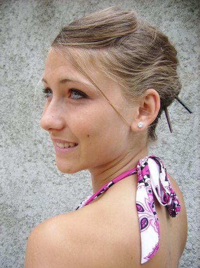 Moi au mois de juillet 2008