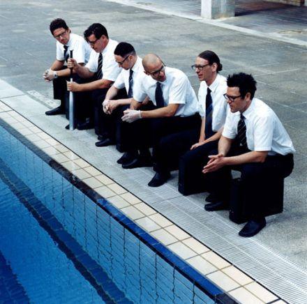 Rammstein a la piscine