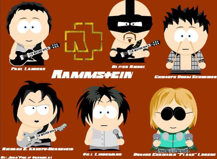 Rammstein South Park
