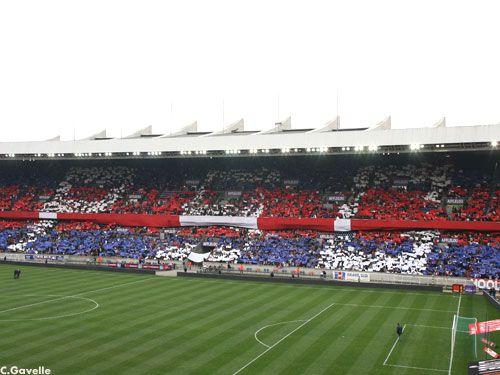 Tribune Paris PSG - OL (PSG)