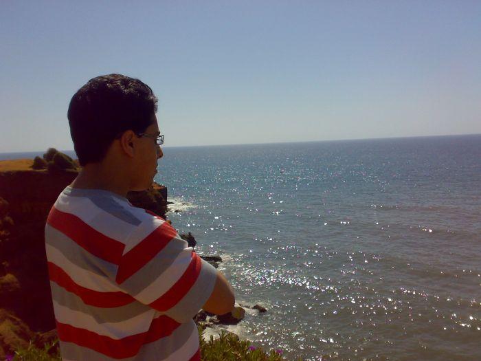 Near to the beach,Saad