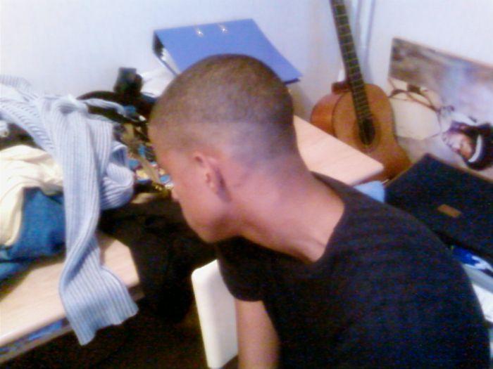 my hair now