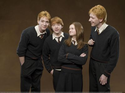 enfants weasley
