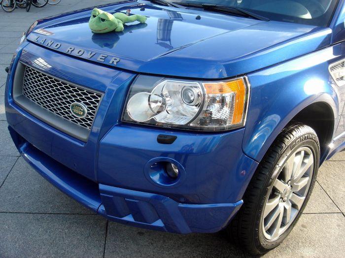 Rabachole et la Nouvelle Land Rover