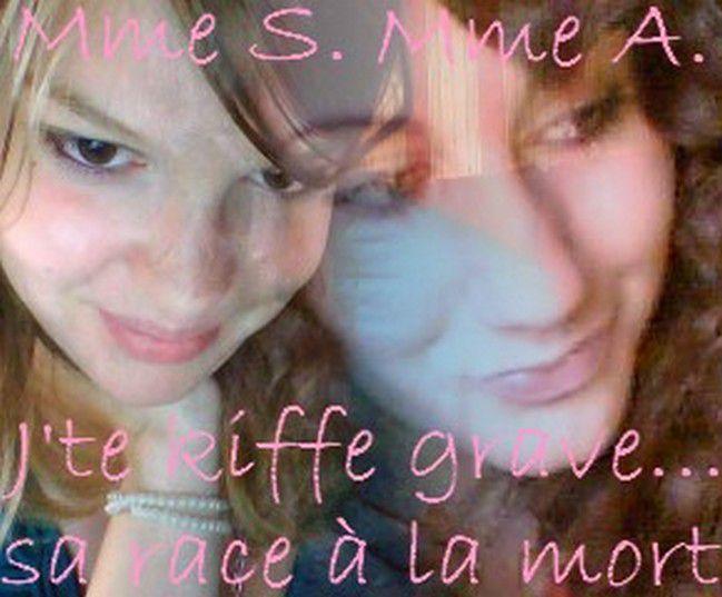Mme & Moi ( On fait comme on peut hein xD )