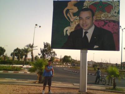 C Moii Avec La Tof De Mohamad 6 Sur Le Marakech