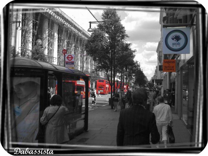 Londres vu et modifié par Dabassista