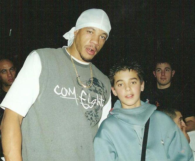 Joeystarr et Rital Thugg (à 12 ans)