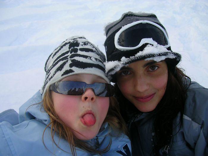 Besta et moi au skii Mdr