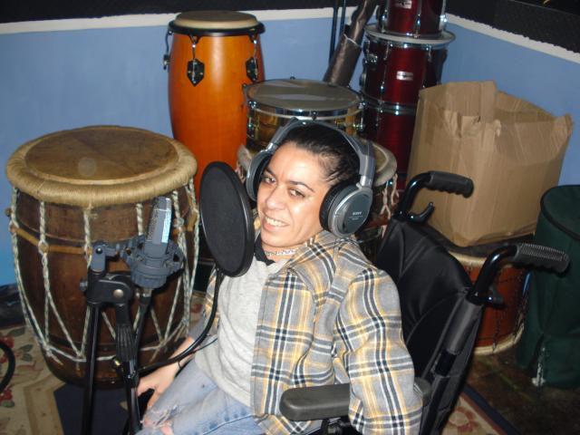 à Clamart, en studio