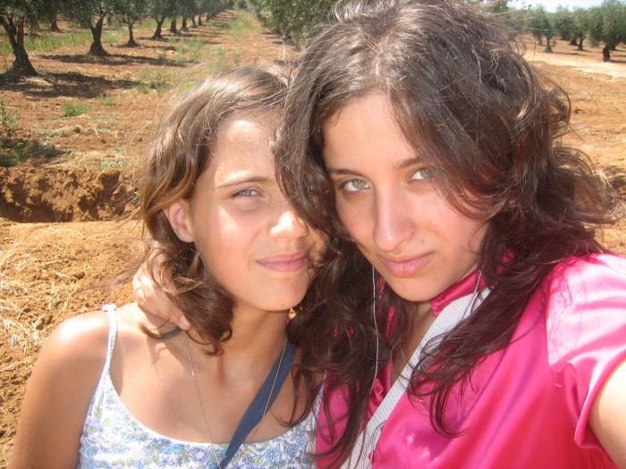 Mwa et ma cousine Sandrine