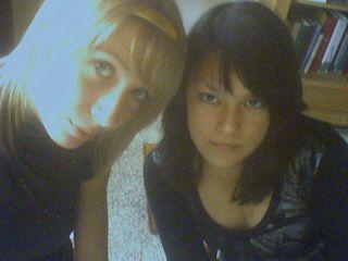 Moi la blonde :p et Nao