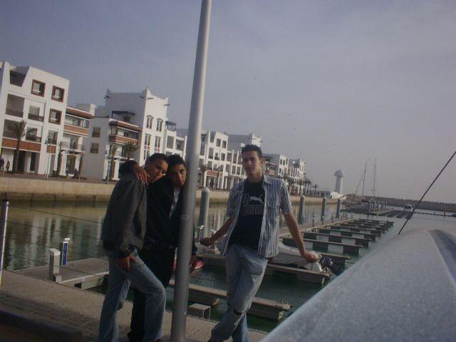moi et mes amis a marina agadir