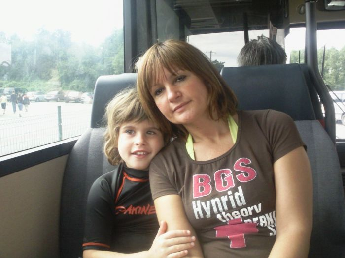 Alexandra et Maman
