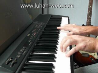 """Clip-Impro piano """"Les petites notes"""""""