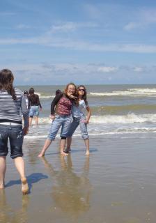 Ma GlOsseuse et Moi a la Mer !! ..