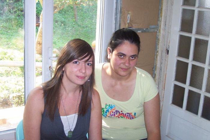 Cindy et Amandine