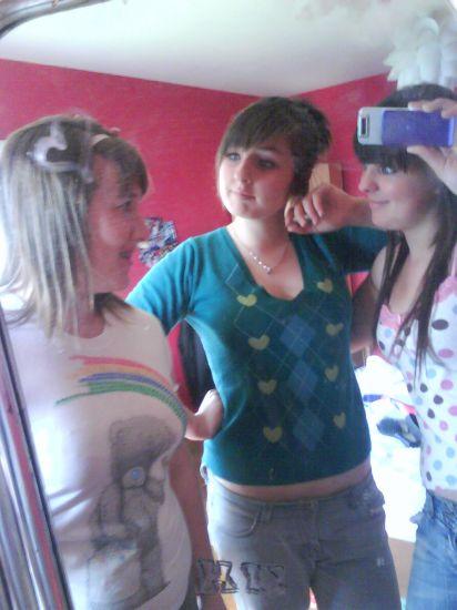 Jenni, Helen et moi ..au naturale! =]