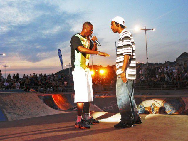 Concert au skate park été 2008