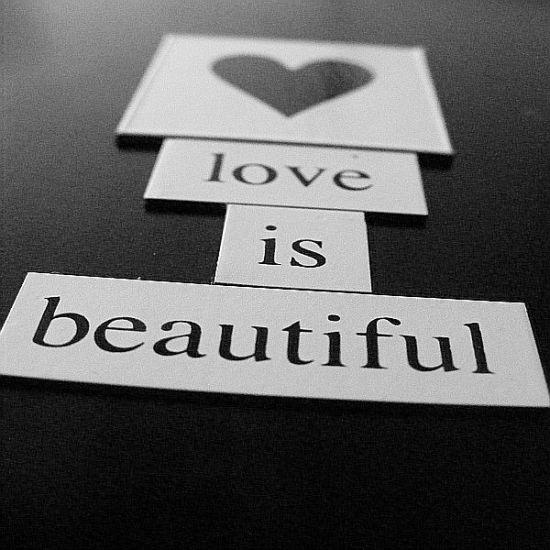 love is beautyful