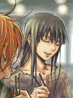 Yuu qui sourit ! O_O