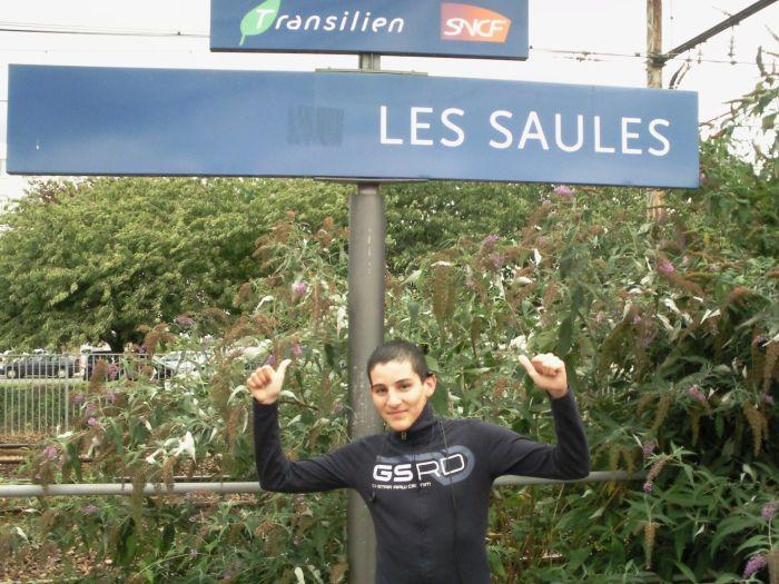 Moiii à la Gare des SAULES à ORLY 94310